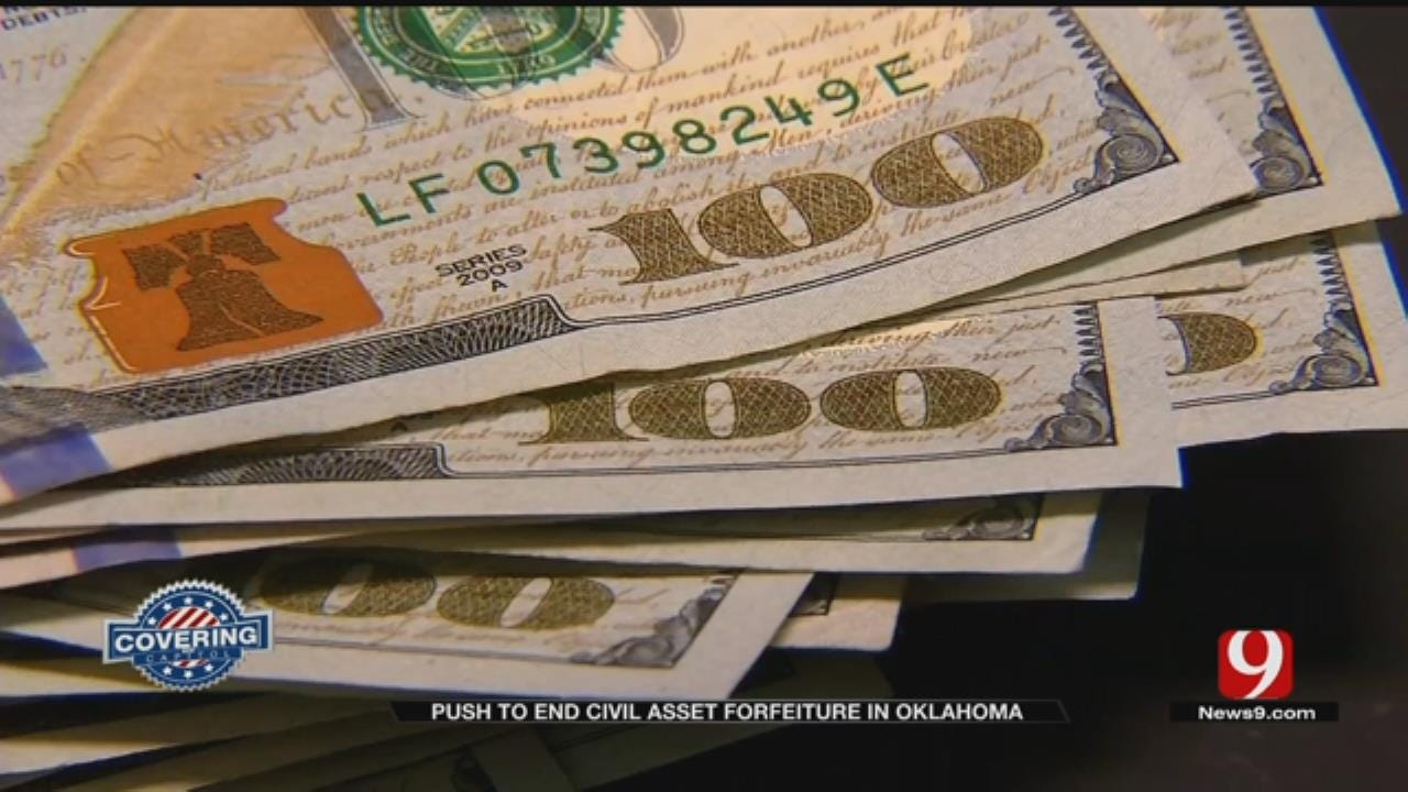 Rally Held To End Civil Asset Forfeiture In Oklahoma
