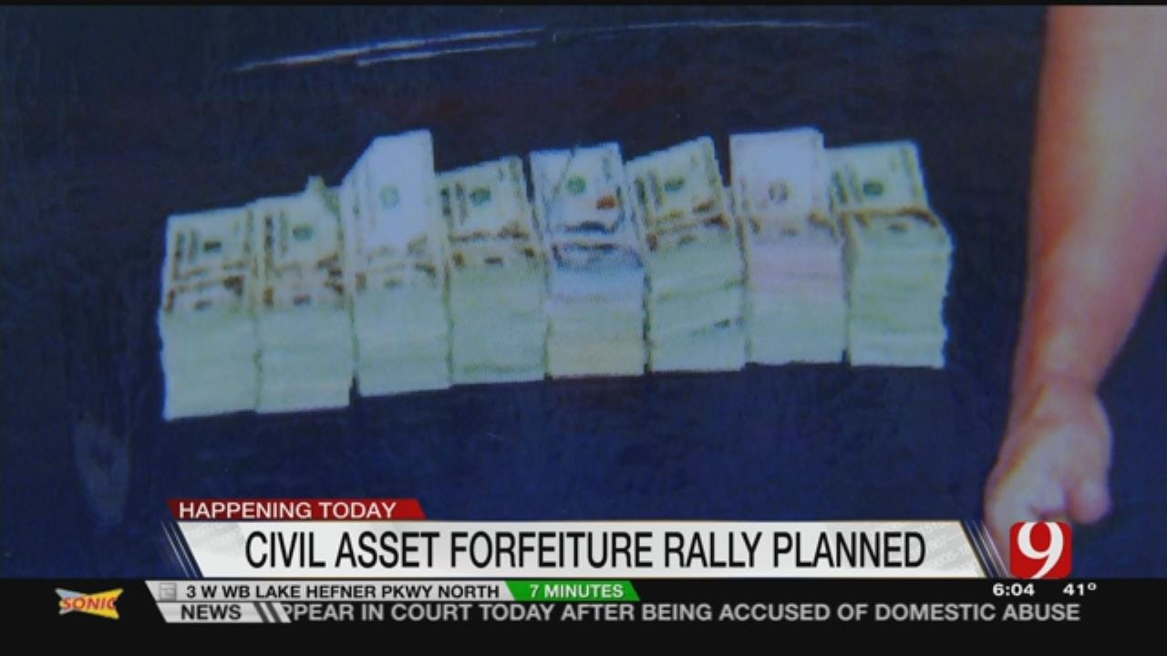 Opponents Of Civil Forfeiture To Rally At Capitol Today