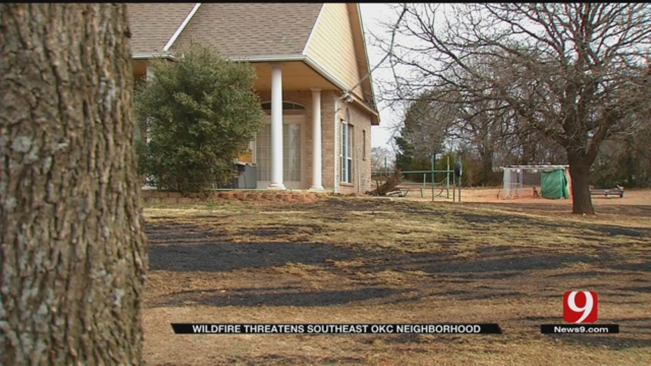 Retired Firefighter Thankful His Home Was Saved From Wildfire