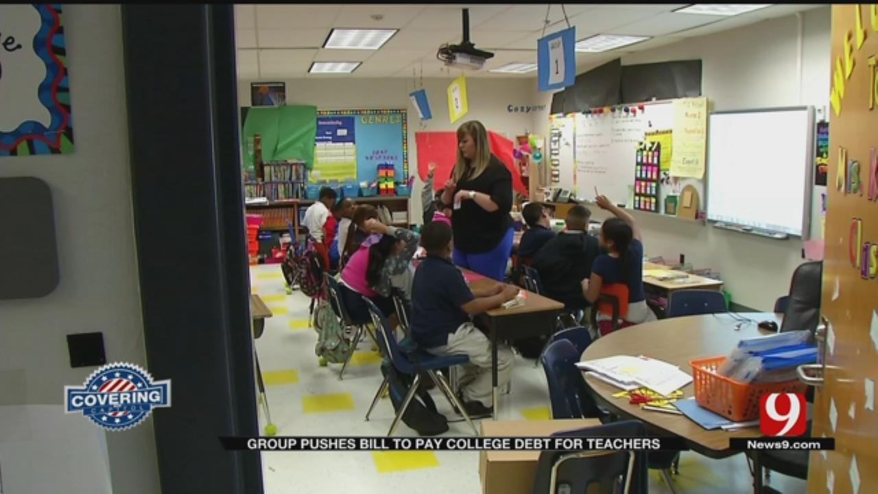 Group Pushes To Pay College Debt For Oklahoma Teachers