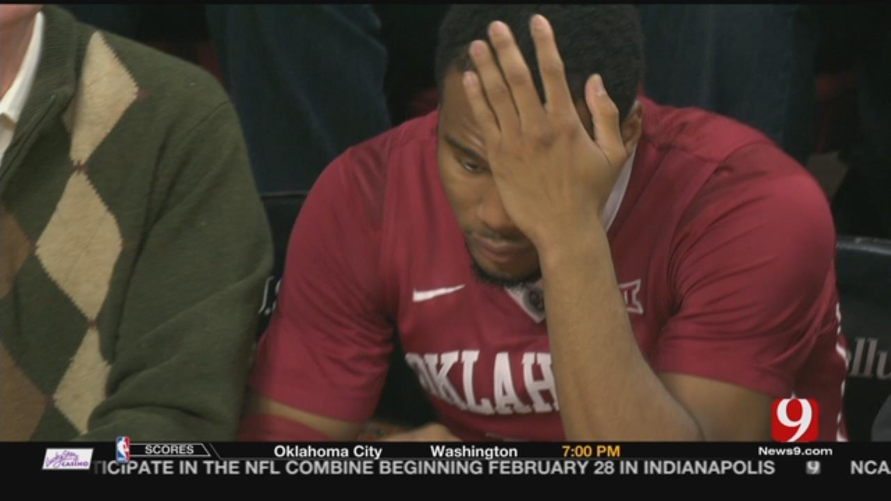 OU's Jordan Woodard Tears ACL In Loss To Iowa State