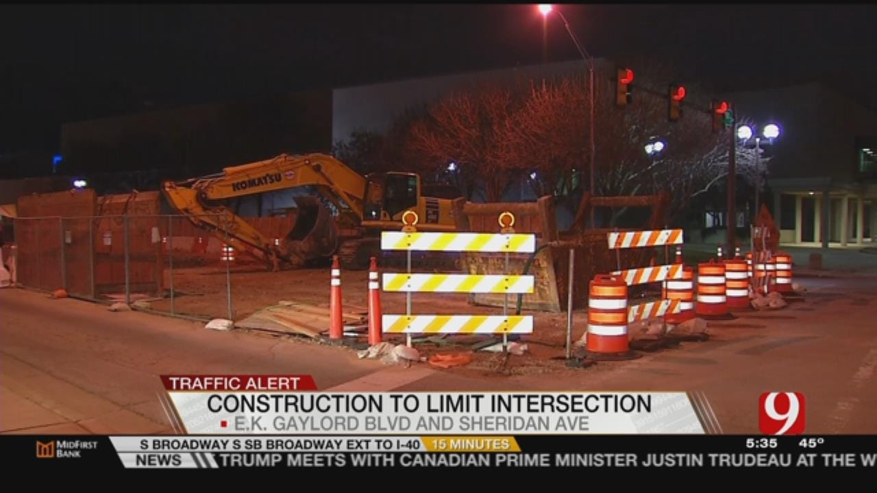 OKC Road Construction Projects Begin To Pile Up, Overlap Today