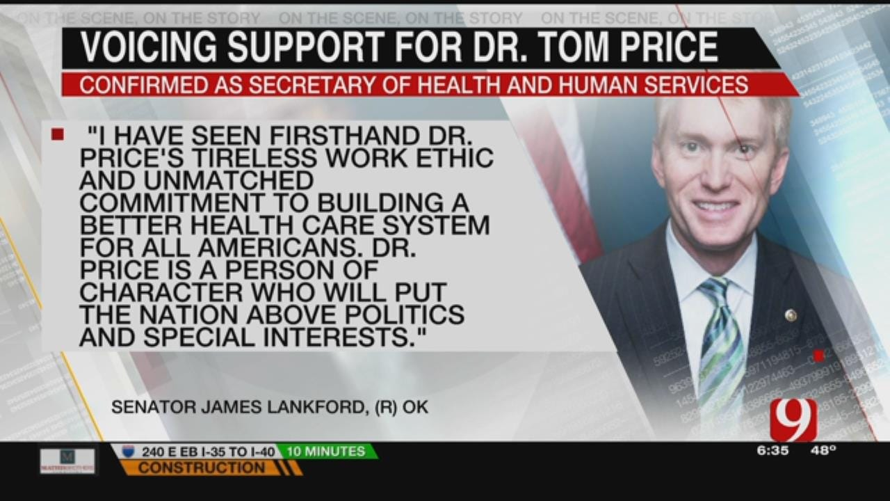 Tom Price Confirmed As Health And Human Services Secretary