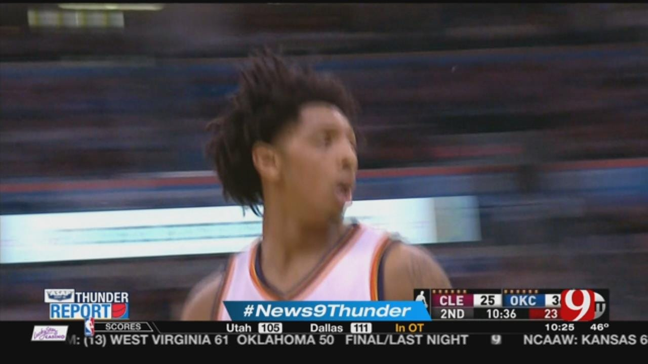 Westbrook's 26th Triple-Double Lifts Thunder Past Cavaliers