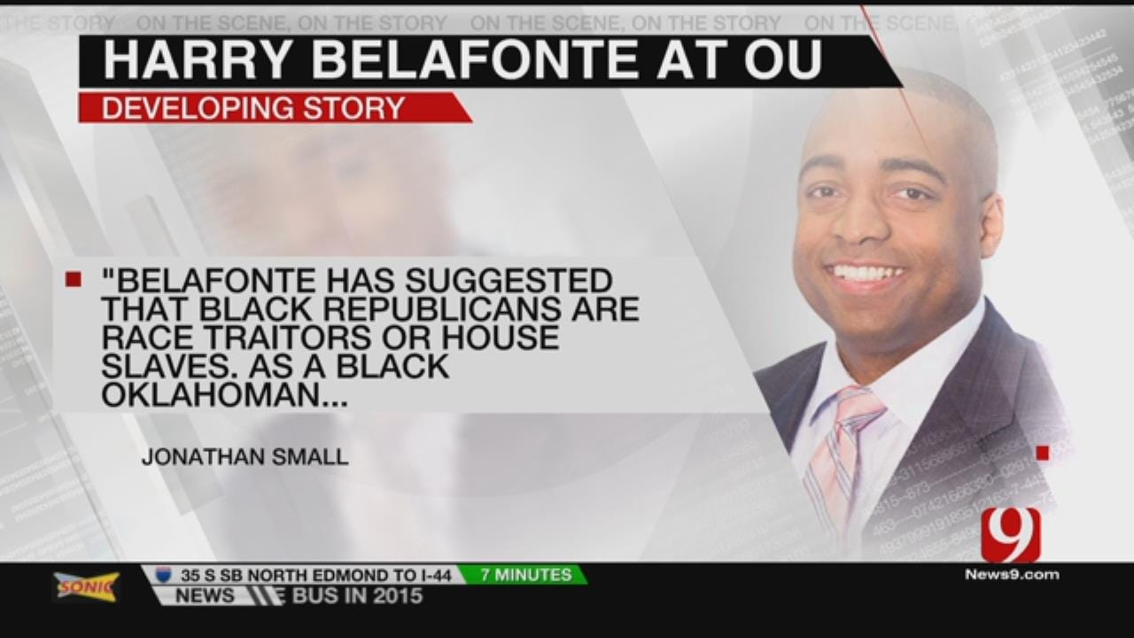 Activist Belafonte Speaking At OU Amid Local Opposition