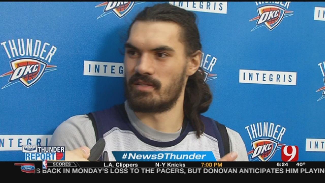 Thunder Host Cavaliers On Thursday