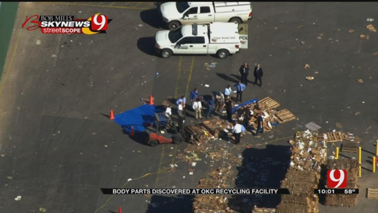 Employees Find Human Remains At Waste Processing Site