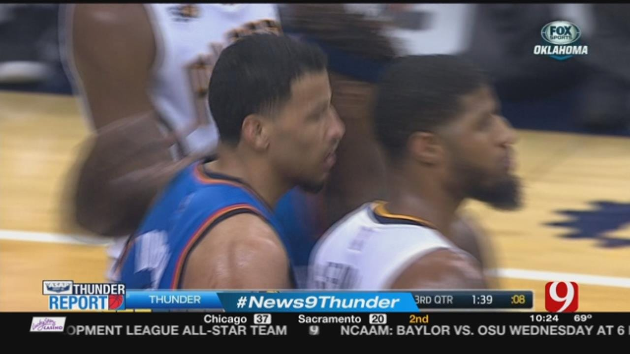 Thunder Fall On The Road To Pacers