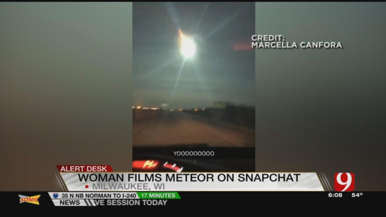 Meteor Flashes Across Wisconsin Sky Early This Morning