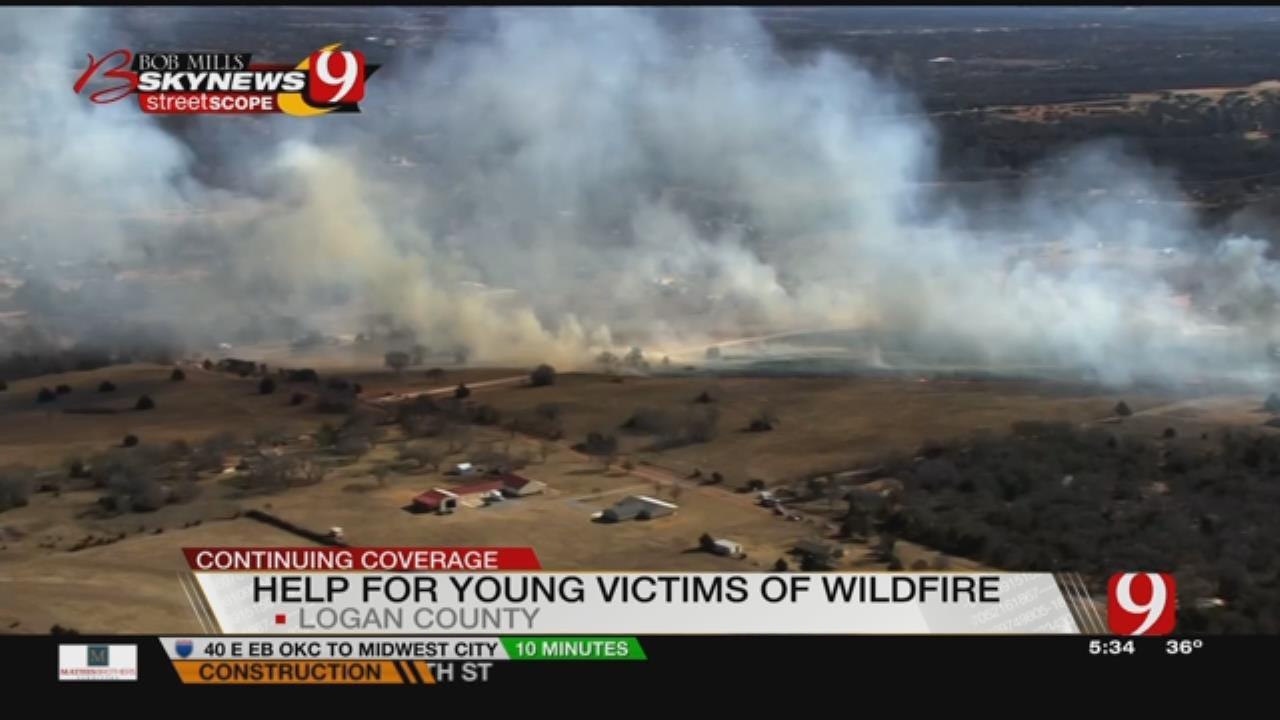 Wildfire Near Edmond Erases Homes