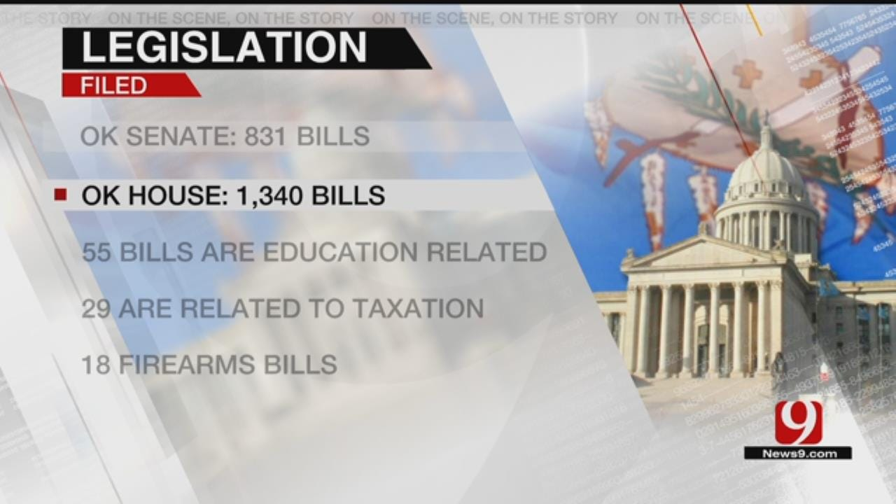Oklahoma Lawmakers File More Than 2K Bills For Legislative Session