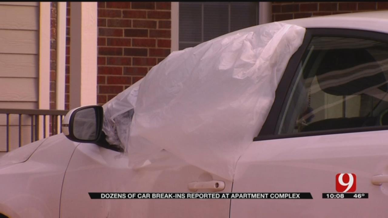 Dozens Of Car Break-Ins Reported At NE OKC Apartment Complex