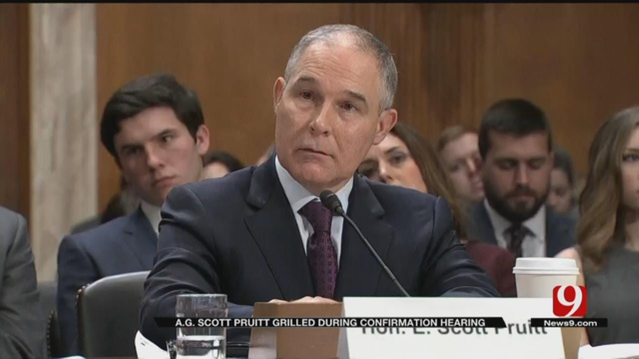 Pruitt In Hot Seat On Capitol Hill During Confirmation Hearing