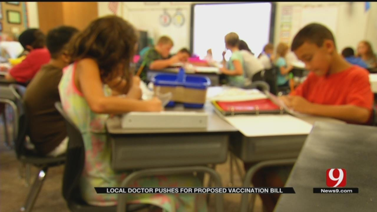 OKC Doctor, Senator Pushes For Proposed Vaccination Bill
