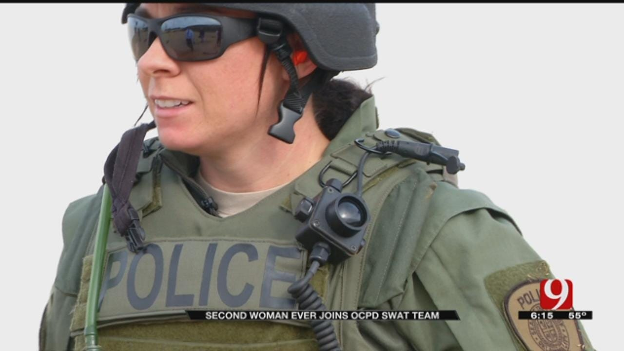 Woman Joins OKC Police's Tactical Team, Second In Team's History