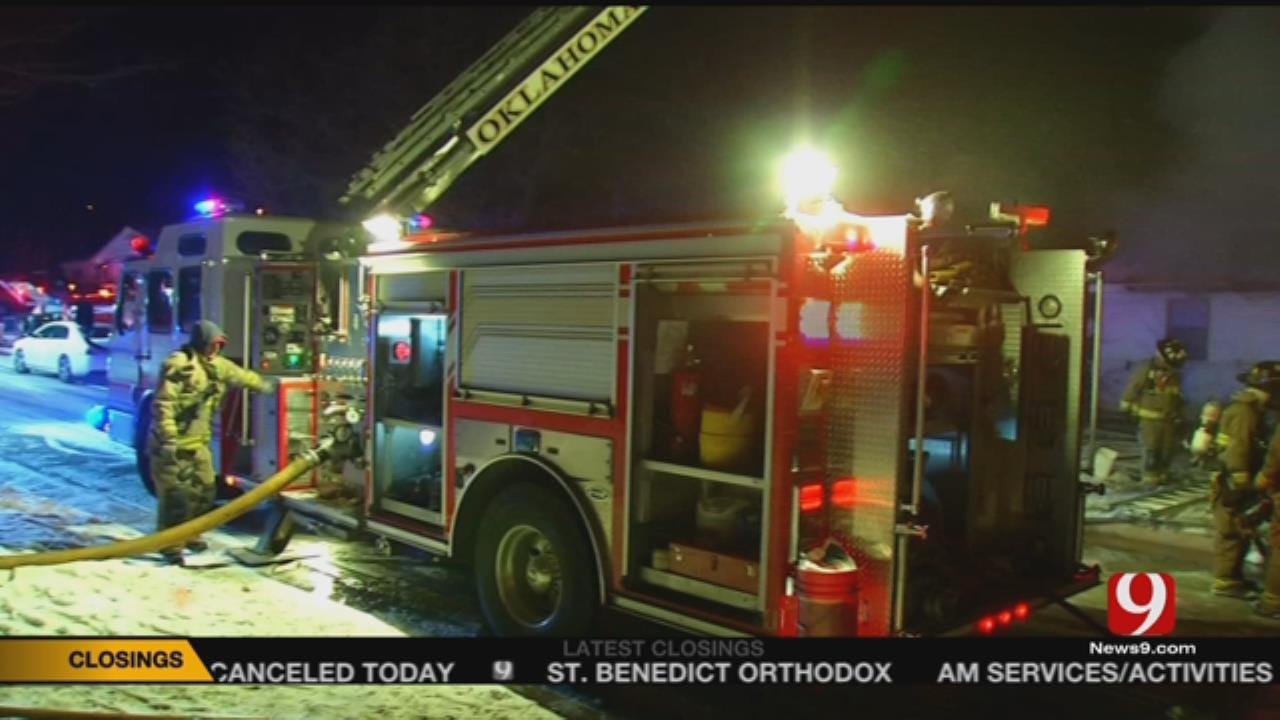Crews Investigating NE OKC House Fire
