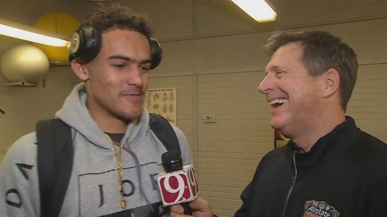 Dean Blevins Goes 1-On-1 With Norman North's Trae Young