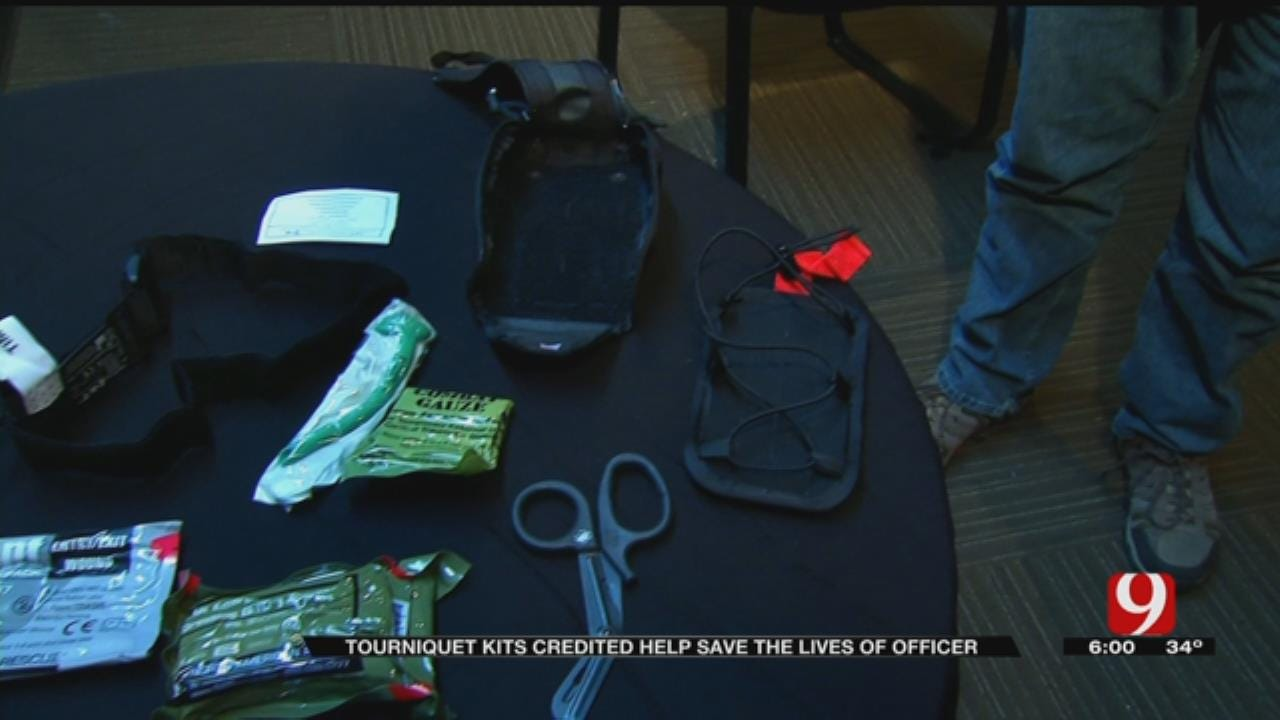Tourniquet Kit Helped Save Valley Brook Police Officer After Being Shot