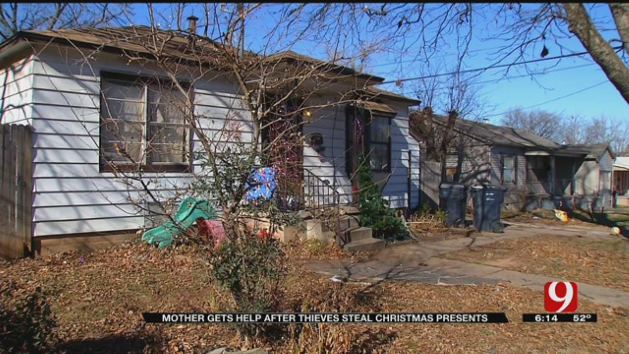 Foster Mother Receives Help After Thieves Steal Christmas Presents