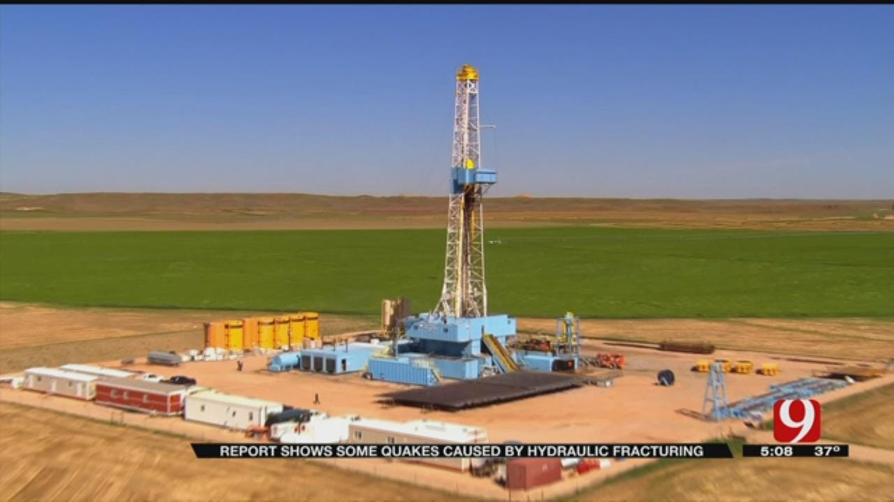 Report Shows Some OK Quakes Caused By Fracking