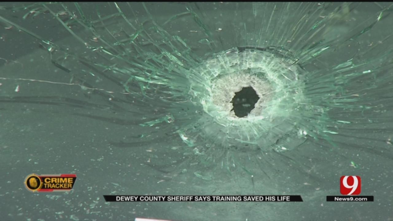 Dewey Co. Sheriff Says Training Saved His Life