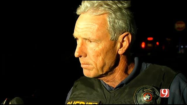 WEB EXTRA: Lincoln County Sheriff Gives Update On Officer-Involved Shooting, Manhunt
