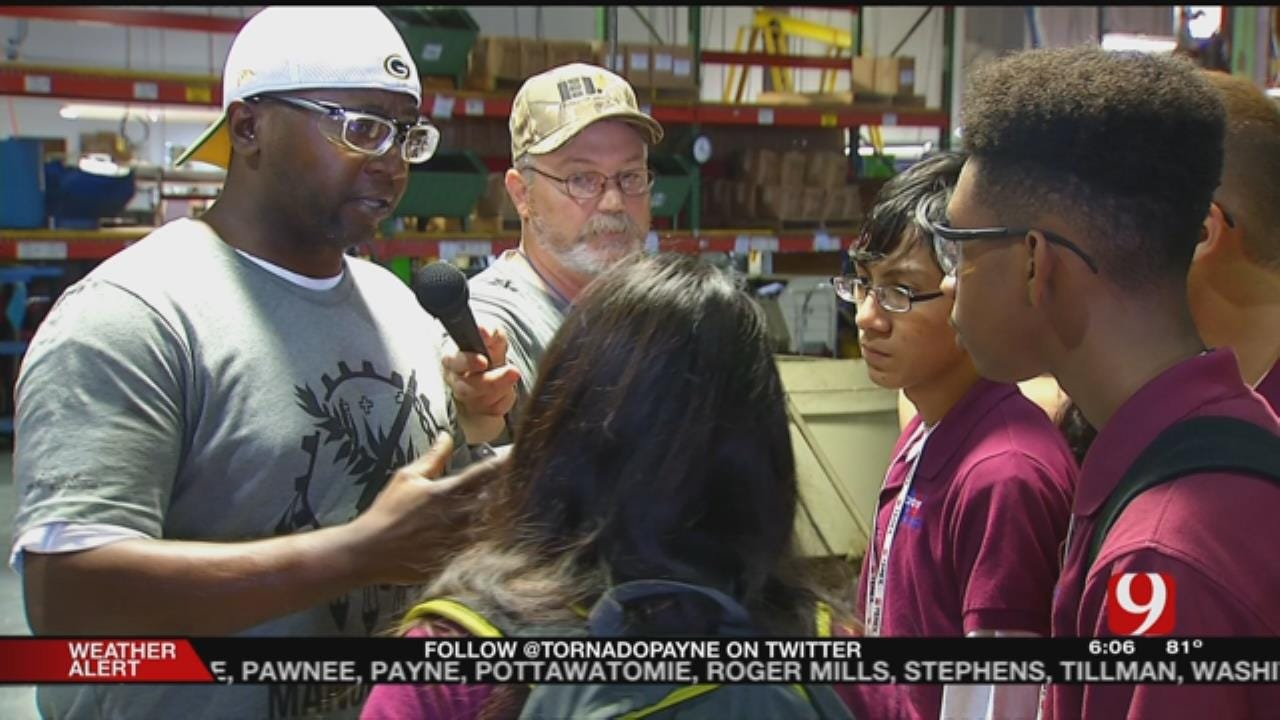 Metro Students Get Hand-On Manufacturing Experience