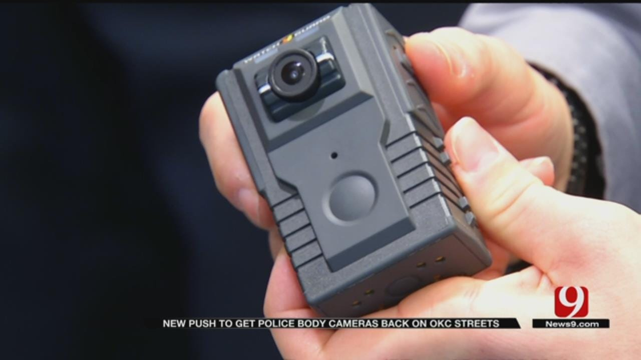 BLM Calls For Body Cameras For OKC Police Officers