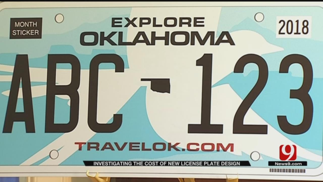 A Look At The Cost Of The New License Plate Design