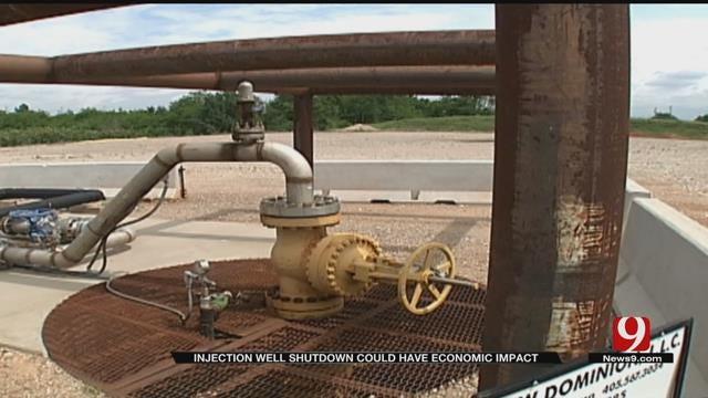 Shut Down Of Injection Wells To Impact OK Economy