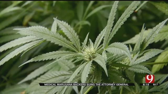 Medical Marijuana Backers Sue State Attorney General