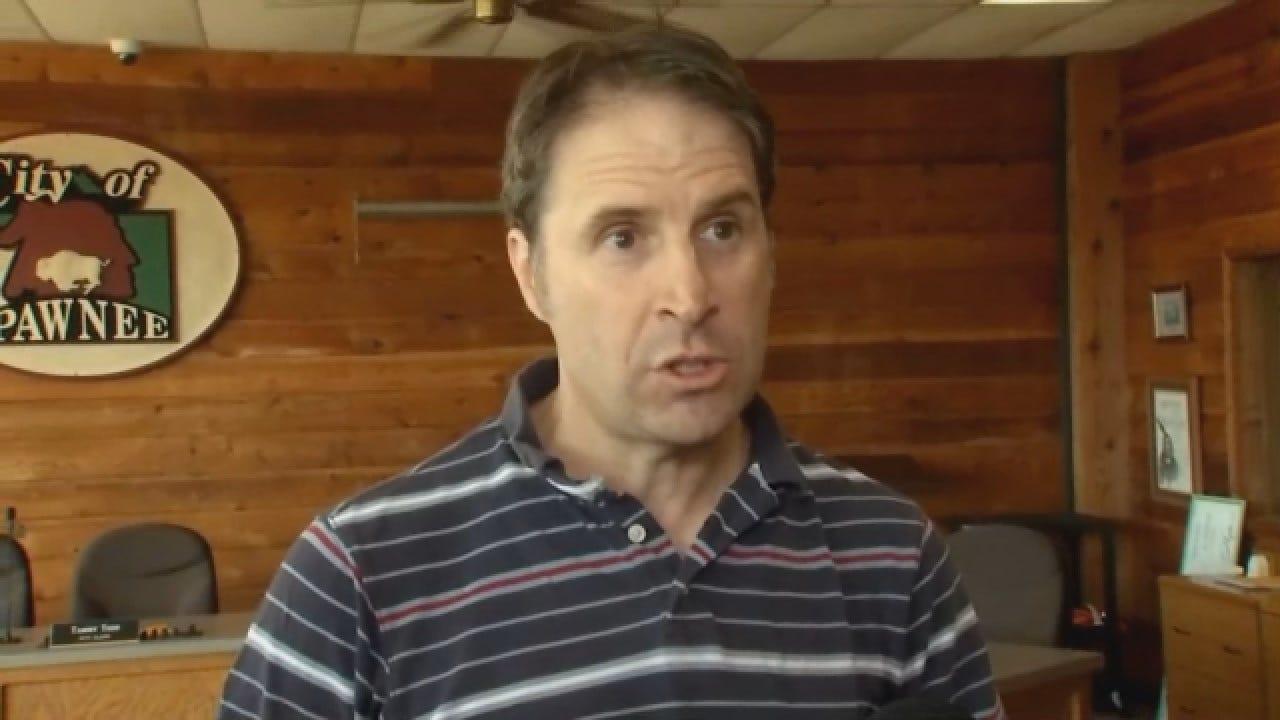 WEB EXTRA: Pawnee Mayor Talks About 5.6 Magnitude Earthquake