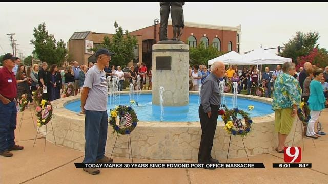 Residents Gather For 30th Anniversary Of Edmond Post Office Massacre