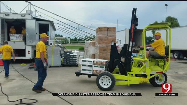 Oklahoma Disaster Response Team In Louisiana To Help Flood Victims
