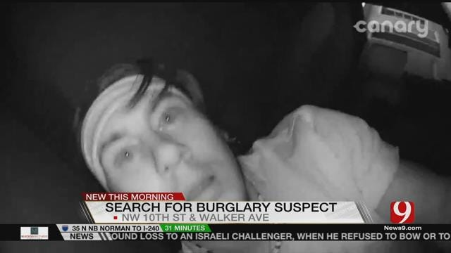Surveillance Camera Captures Clear Images Of Suspect In OKC Business Burglary