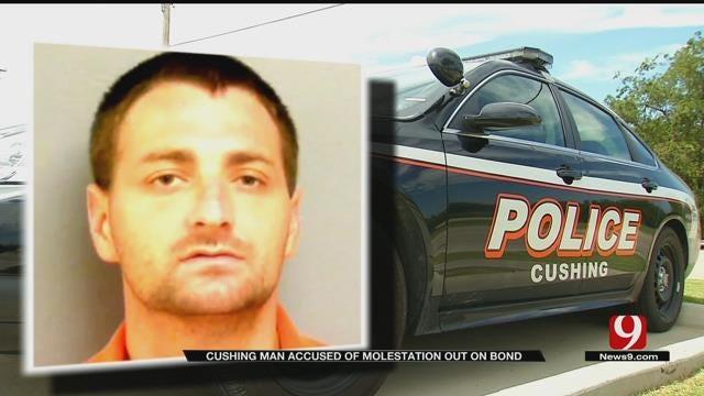 Cushing Man Accused Of Molestation Out On Bond