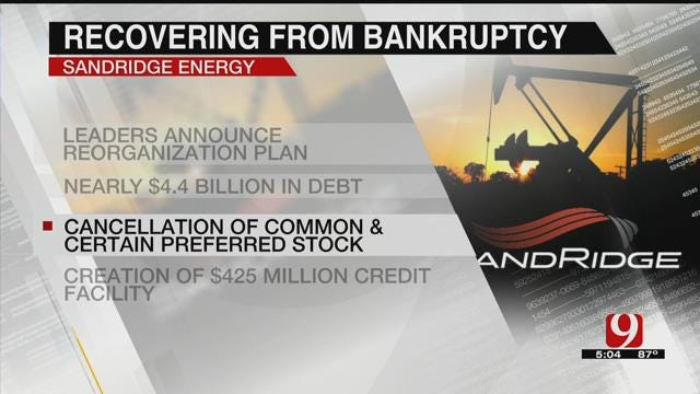SandRidge Expected To Recover After Bankruptcy