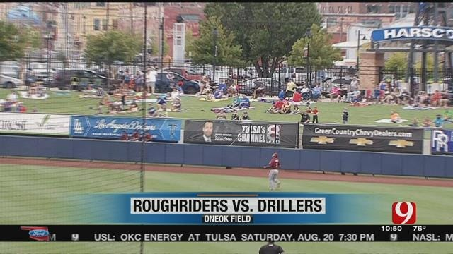 Drillers Sweep Roughriders