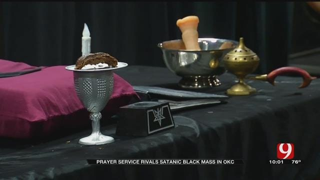 Prayer Service To Rival Black Mass In OKC