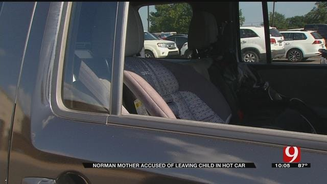 Norman Mother Accused Of Leaving Toddler In Hot Car