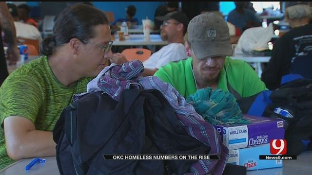 OKC Homeless Numbers On The Rise
