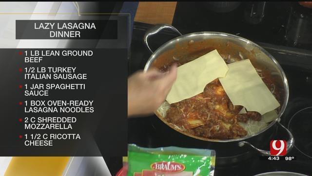 Lazy Lasagna Dinner