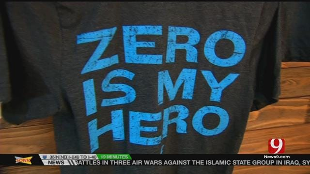 Zero Is My Hero: OKC Company Creates Unique Shirt For Thunder Fans