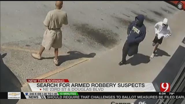 Police Seek Two Suspects In Armed Robbery Of MWC Business