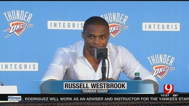 Russell Westbrook Signs Extension With Thunder