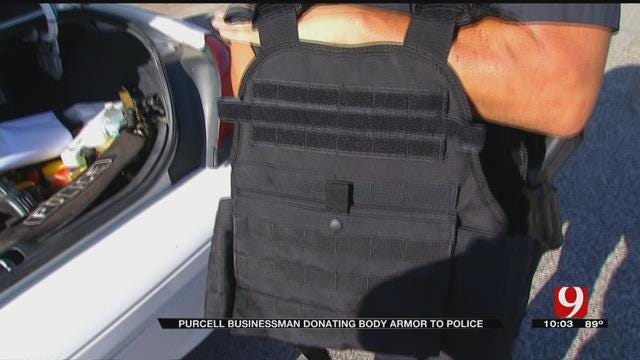 Purcell Businessman To Donate Body Armor To First Responders, Police