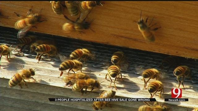 Incident Involving Bees, Hives Wreak Havoc On SE OKC Walmart
