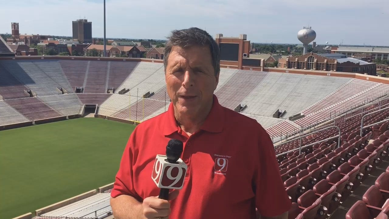 Dean Wraps Up OU Media Day From Norman