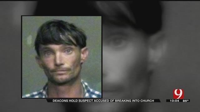Deacons Apprehend Alleged Church Burglar Until OCPD Arrives