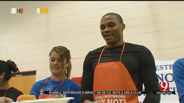 Russell Westbrook's Positive Impact On Oklahoma Co. Boys & Girls Club